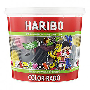 Haribo Color rado 650g
