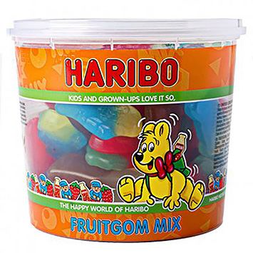 Haribo Fruitgom mix 650g
