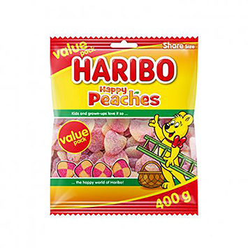 Haribo Happy peaches 400g