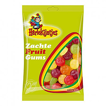 Harlequins Gommes aux fruits rouges 400g