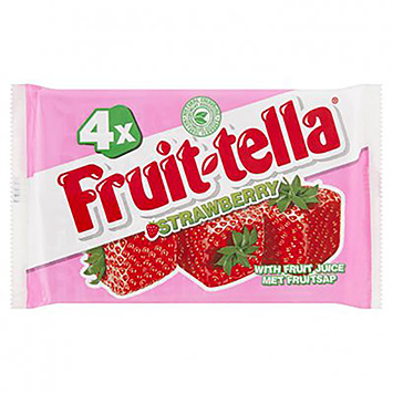 Fruittella Strawberry 164g