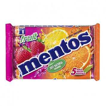 Mentos Fruit 5 rollen 188g
