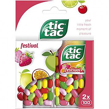 Tic tac Festival 2x49g