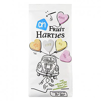 AH Fruit hearts 250g