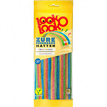Look o look Sour rainbow mats 125g