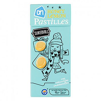 AH Honey Lemmon Pastilles 100g