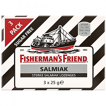 Fisherman's friend Salmiak 3x25g