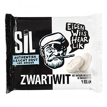 Sil Black and white 132g