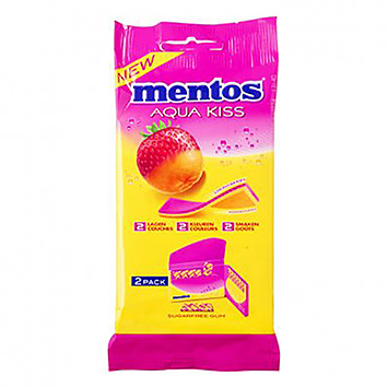 Mentos Aqua kiss strawberry mandarin 2x26g 52g