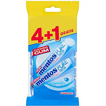 Mentos Chewing gum pure fresh fresh mint 4x16g