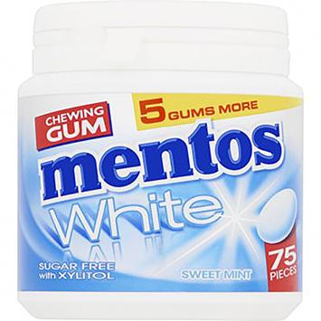 Mentos Chwing viskelæder hvid sød mynte 113g