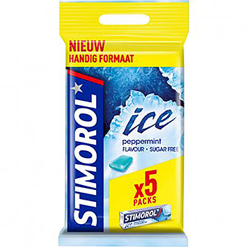 Stimorol Ice peppermint 5x14g