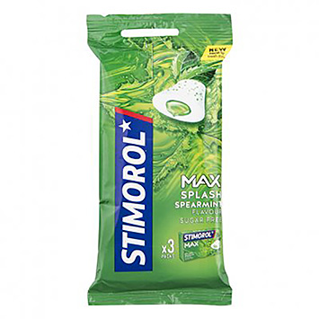 Stimorol Max Splash Minze 3x22g