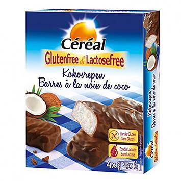 Céréal kokosnødestænger 4x25g