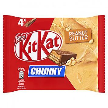 KitKat Chunky peanut butter 4x42g