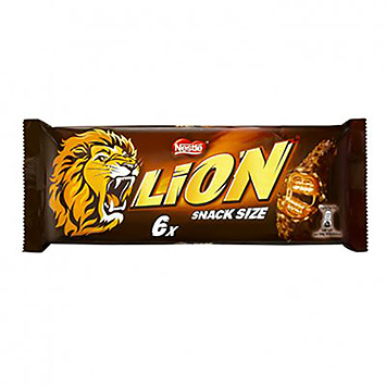 Lion Snack taille 6x30g
