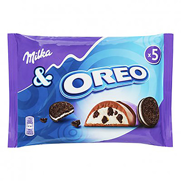 Milka and Oreo 5x37g