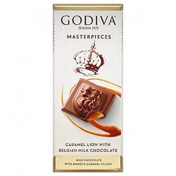 Godiva Masterpieces Caramel lion with Belgian milk chocolate 83g