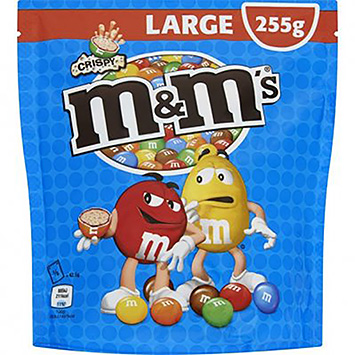 M&M's Crispy large 255g