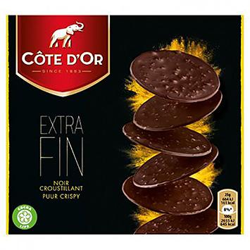 Côte d'or Extra fin puur crispy 150g