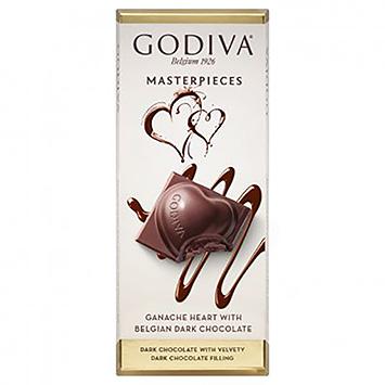 Godiva Godiva Masterpieces ganache-hjerte med belgisk mørk chokolade 83g 83g