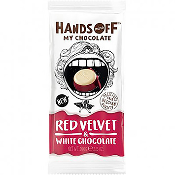 Hands off Red velvet and white chocolate 100g