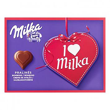 Milka I love milka pralinés 110g