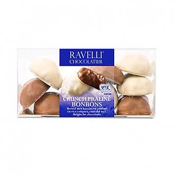 Ravelli chocolatier Crunch praliné bonbons 200g