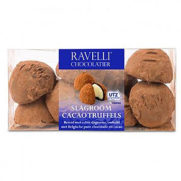 Ravelli chocolatier Truffes à la crème fouettée au cacao 200g
