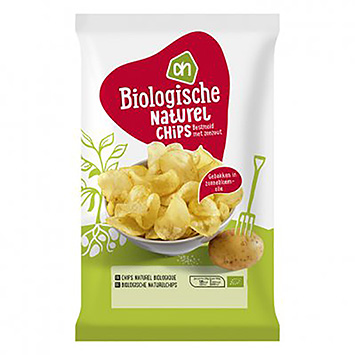 AH Organic natural chips 125g