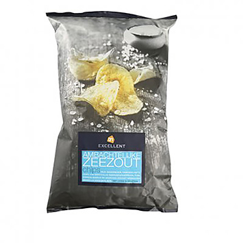AH Excellent Artisanal sea salt chips 150g