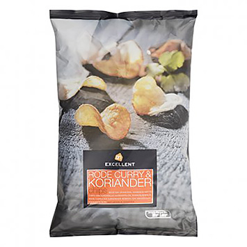 AH Excellent Red curry and coriander chips 150g