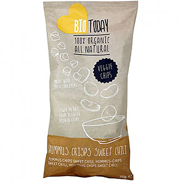 BioToday Hummus crisps sweet chili 75g