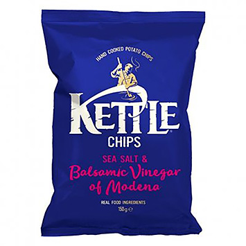 Kettle Chips sea salt and balsamic vinegar of Modena 150g
