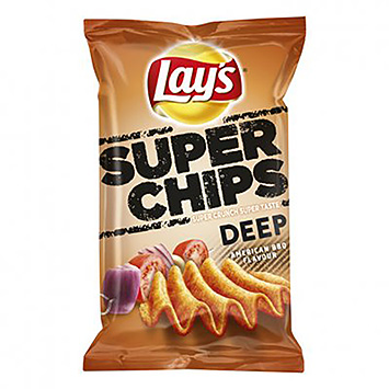 Lay's Superchips deep American BBQ 147g