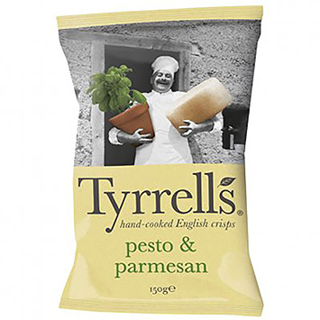 Tyrrells Chips pesto and parmesan 150g
