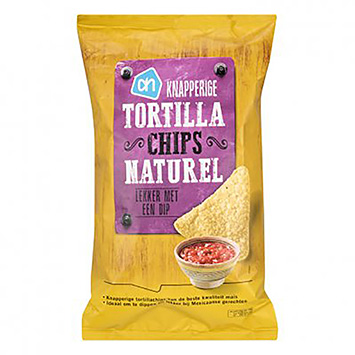AH Knapperige tortilla chips naturel 200g