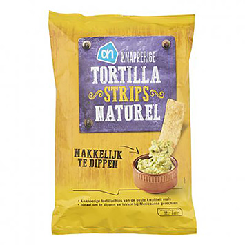 AH Knapperige tortilla strips naturel 150g