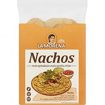 La Morena Nachos oven gebakken mais tortilla chips 150g