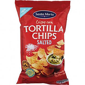 Santa Maria Crispy corn tortilla chips salted 185g