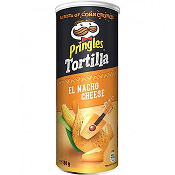 Pringles Tortilla el nacho cheese 160g