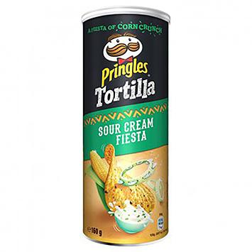 Pringles Tortilla sour cream fiesta 160g