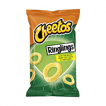 Cheetos Ringlings oignons et fruits fins 125g