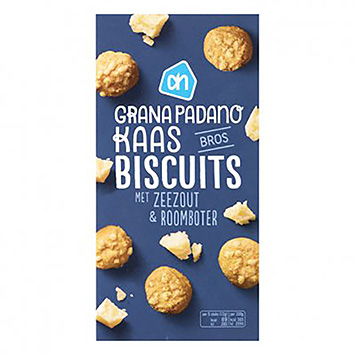 AH Grana padano cheese biscuits with sea salt and butter 75g