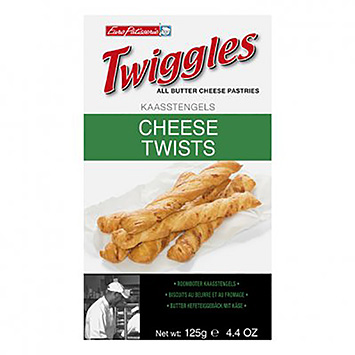 Twiggles Fromages Twists 125g