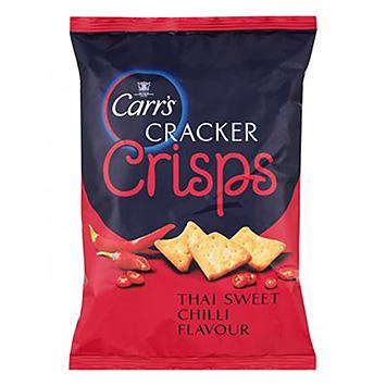 Carr's Cracker crisps Thai sweet chilli 150g