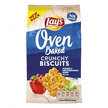 Paprika aux herbes méditerranéennes, biscuits croquants au four Lay's Oven 90g