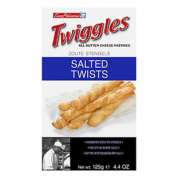 Twiggles Salé Twists 125g