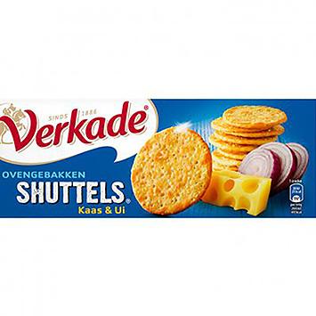 Verkade Navettes de fromage et d'oignons cuites au four 150g
