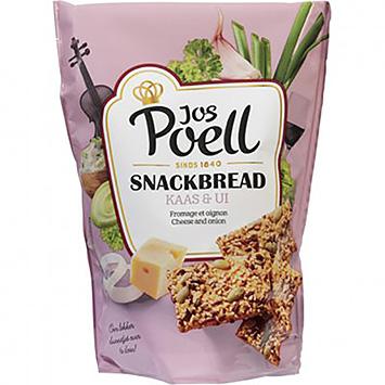 Jos Poell Snackbread au fromage et à l'oignon 110g